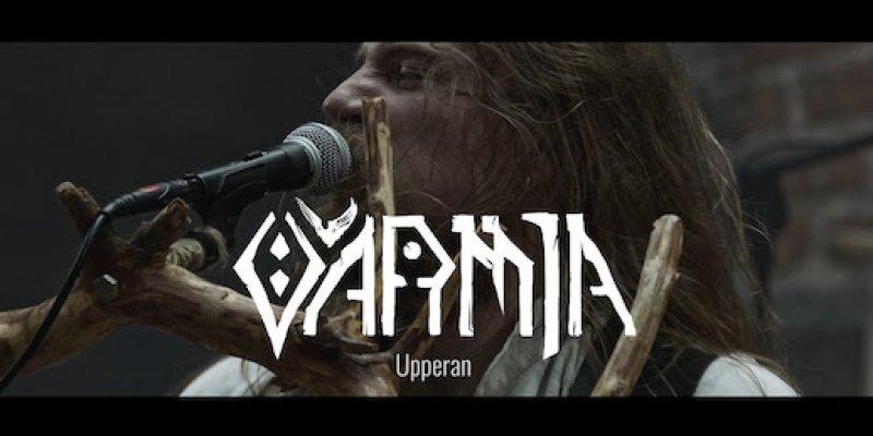 "POLISH PAGAN BLACK METAL ALCHEMISTS VARMIA PREMIERE MUSIC VIDEO FOR ""UPPERAN"""