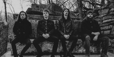 """MYOPIC & AT THE GRAVES: BrooklynVegan Premieres """"Through Veins Of Shared Blood"""" From A Cold Sweat Of Quiet Dread; Collaborative Full-Length To See Release Via Grimoire Records"""