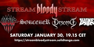 Don´t miss Stream Bloody Stream on saturday!