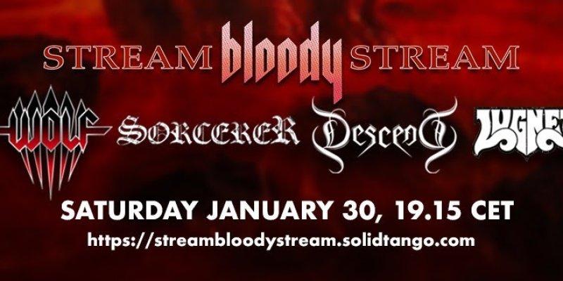 Don´t miss Stream Bloody Stream on saturday!