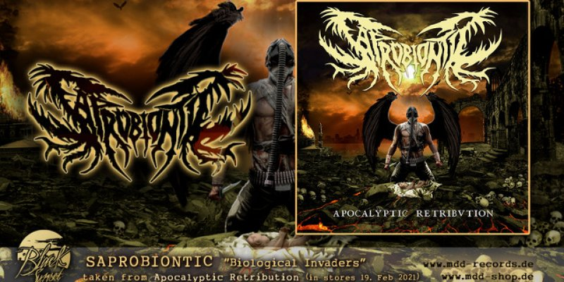 """SAPROBIONTIC to release """"Biological Invaders"""" on February 19th"""