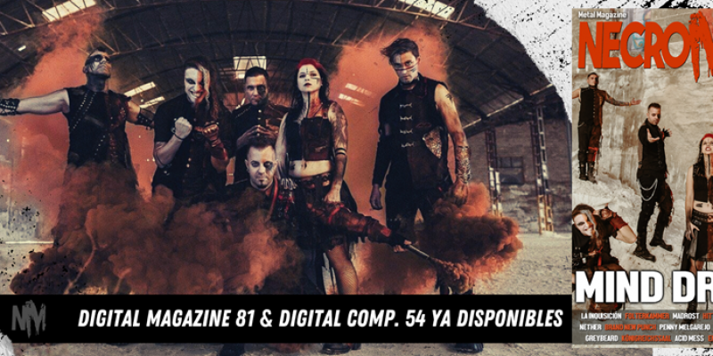 NECROMANCE MAGAZINE # 81 online now !! and Issue # 82 in preparation (to be out at the end of February 2021)