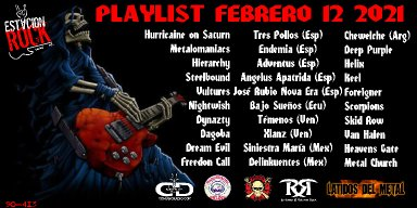 Hurricaine of Saturn, Metalomaniacs, Hierarchy - Streaming At Estación Rock play list!