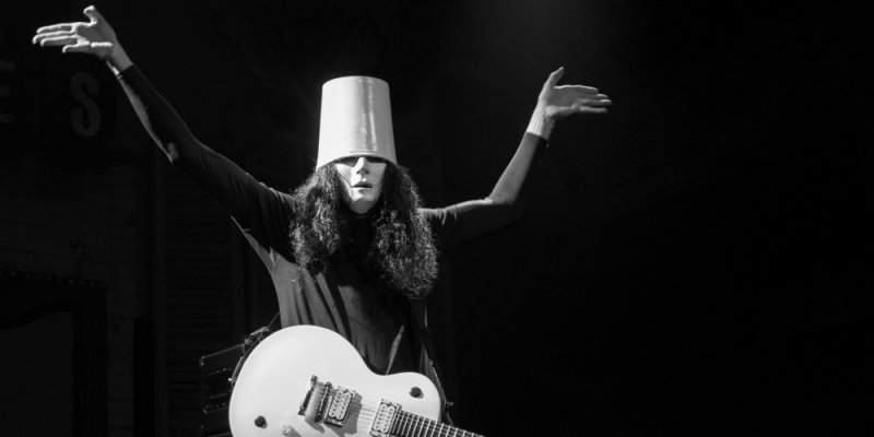 BUCKETHEAD Finally Explains Why He Has A Bucket on His Head
