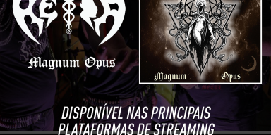 """HÉIA: """"Magnum Opus"""" integrates the main streaming platforms in the world, listen now!"""
