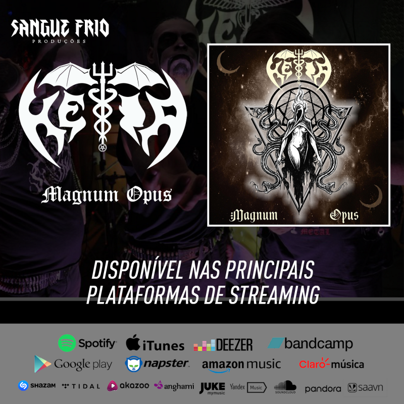"HÉIA: ""Magnum Opus"" integrates the main streaming platforms in the world, listen now!"