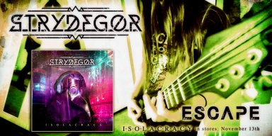 "STRYDEGOR: release a new playthrough video for the track ""Escape"""