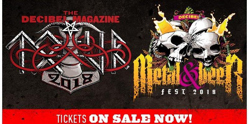 ON SALE NOW: Decibel Tour and Metal & Beer Fest Tickets!