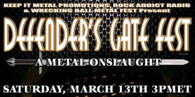 Defender's Gate Metal Fest Stampedes its Way with a Free Online Streaming Event