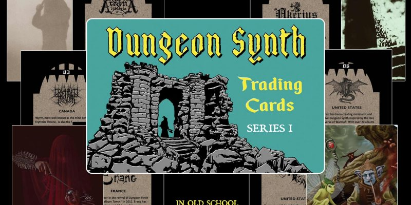 Dungeon Synth Trading Card Series - Featured At Bathory'Zine!