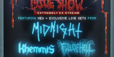 Decibel Magazine announces 200th issue livestream show: Extremely Ex-Stream - featuring Midnight, Khemmis, Full of Hell, Horrendous, Wake