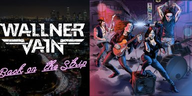 WALLNER VAIN Announce 'Back On The Strip' Single Featuring Members Of White Wizzard, Dio, Black Sabbath, Out In April