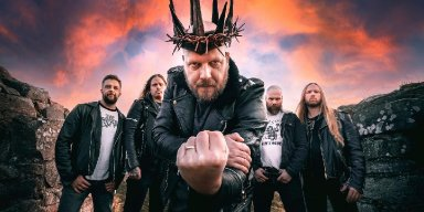 """The Crown lands on worldwide charts for new album, 'Royal Destroyer'; launches lyric video for """"Beyond the Frail"""""""