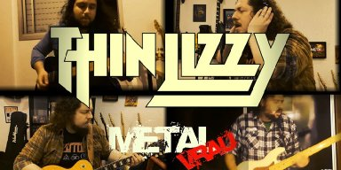 """METAL VRAU launches incredible version of """"Cowboy Song"""" (Thin Lizzy)!"""