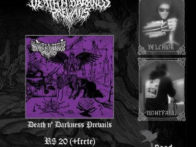"DEATH N 'DARKNESS PREVAIL:"" In the Name of Lust and Sin"" is now available, get it now!"
