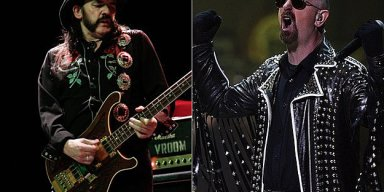 "JUDAS PRIEST FRONTMAN ROB HALFORD - ""I'VE LOOKED UP TO LEMMY KILMISTER FOR 50 YEARS"""