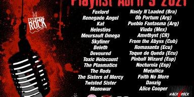 Beleth, Amethyst, Hurricaine of Saturn, Devoured, Meurseult Omega, Skyliner Streaming At Estación Rock Play List!