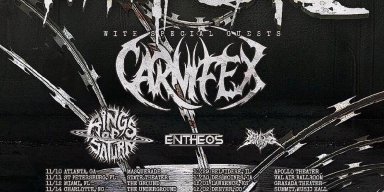 WHITECHAPEL To Begin North American Tour With Carnifex, Rings Of Saturn, Entheos, And So This Is Suffering This Week