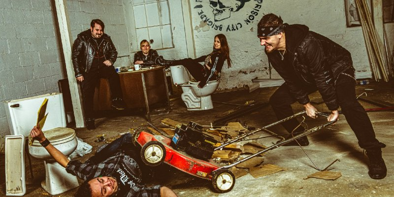 Prison City Brigade - Failure By Design - Featured At Metal Rock Punk News!