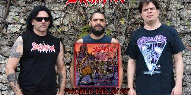"SACRIFIX releases debut album, ""World Decay 19""!"