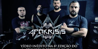 APOKRISIS at the 8th Edition of the Stay Home Festival this Friday (04/16)!