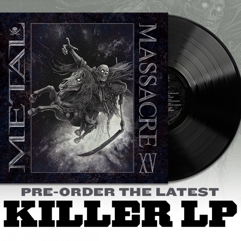 Metal Blade Records Announces 'Metal Massacre XV' Compilation Curated by Decibel Magazine's Albert Mudrian. LP Pre-Order Available!