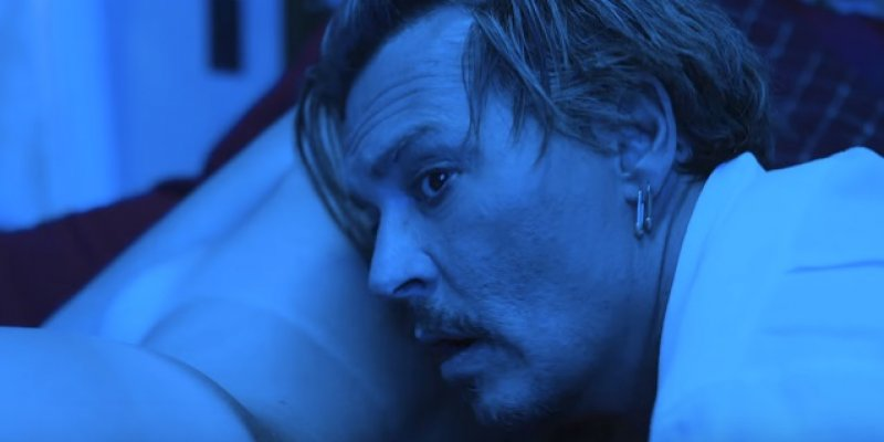 Watch MARILYN MANSON's 'KILL4ME' Video Featuring JOHNNY DEPP