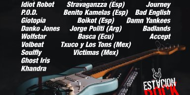 CHRIS MARAGOTH, WOLFSTAR and IDIOT ROBOT - Streaming At Estación Rock!