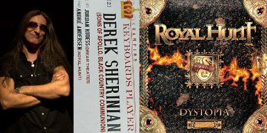 ROYAL HUNT's ANDRÉ ANDERSEN REACHES TOP 3 IN KEYBOARDS PLAYER CHARTS OF BURRN! MAGAZINE