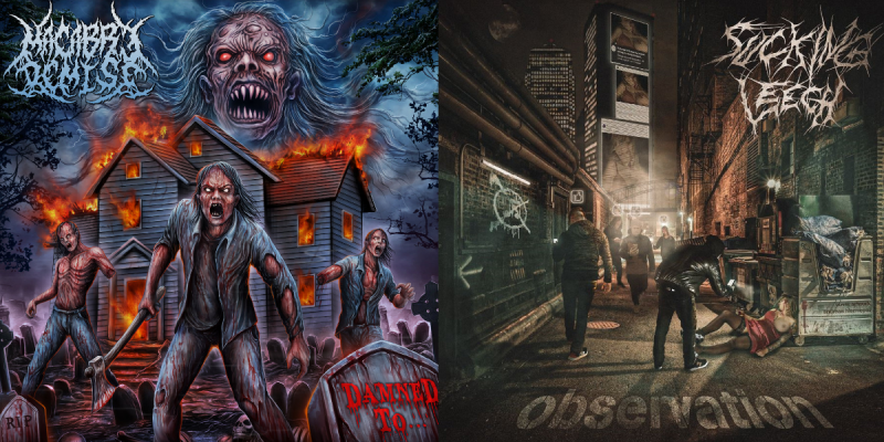 Macabre Demise / Sucking Leech Observation / Damned to...  Release date: Saturday, April 24th 2021