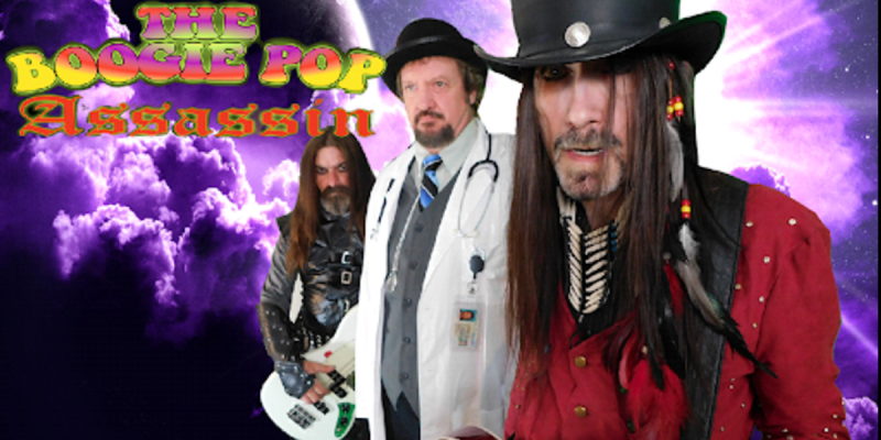 The Boogie Pop Assassin – Break the Chains - Streaming At Metal Meyhem Radio!