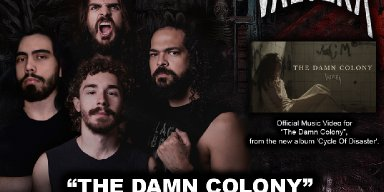 Brazilian Neo-Thrashers of VALVERA release frightener new music video!