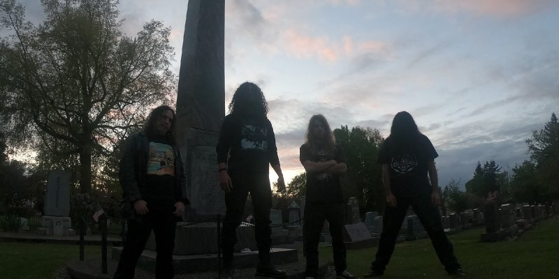 HELL STRIKE set release date for CHAOS RECORDS debut mini-album, reveal first track - features members of ASCENDED DEAD, RITUAL NECROMANY, BLOODSOAKED