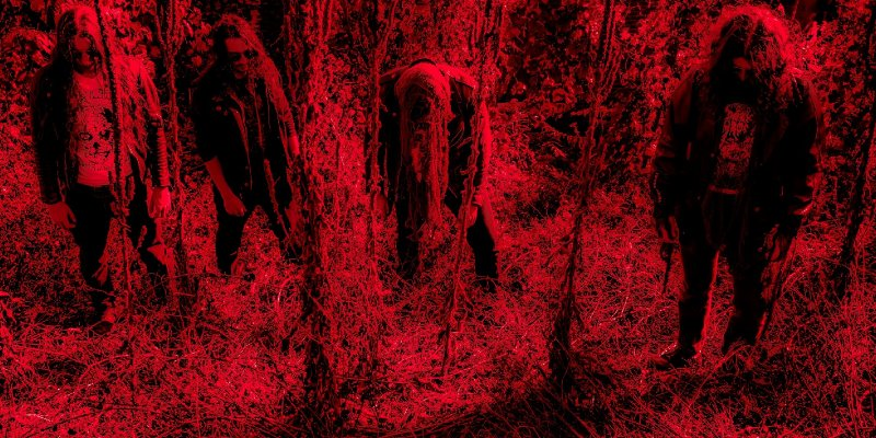 BLOOD HARVEST to release 4-way split featuring BLOOD SPORE, GUTVOID, SOUL DEVOURMENT, and COAGULATE - first track revealed