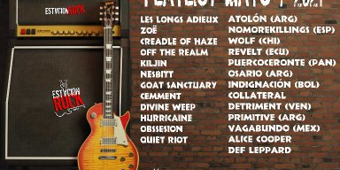 Goat Sanctuary, Cradle of Haze, Off the Realm, Divine Weep, Nesbitt and Zoë - Streaming At Estación Rock!