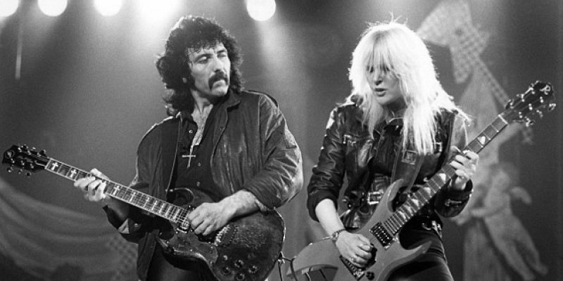 LITA FORD Accuses TONY IOMMI Of  Abuse In Her Book