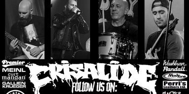 Crisalide sign with the Italian label Minotauro Records.