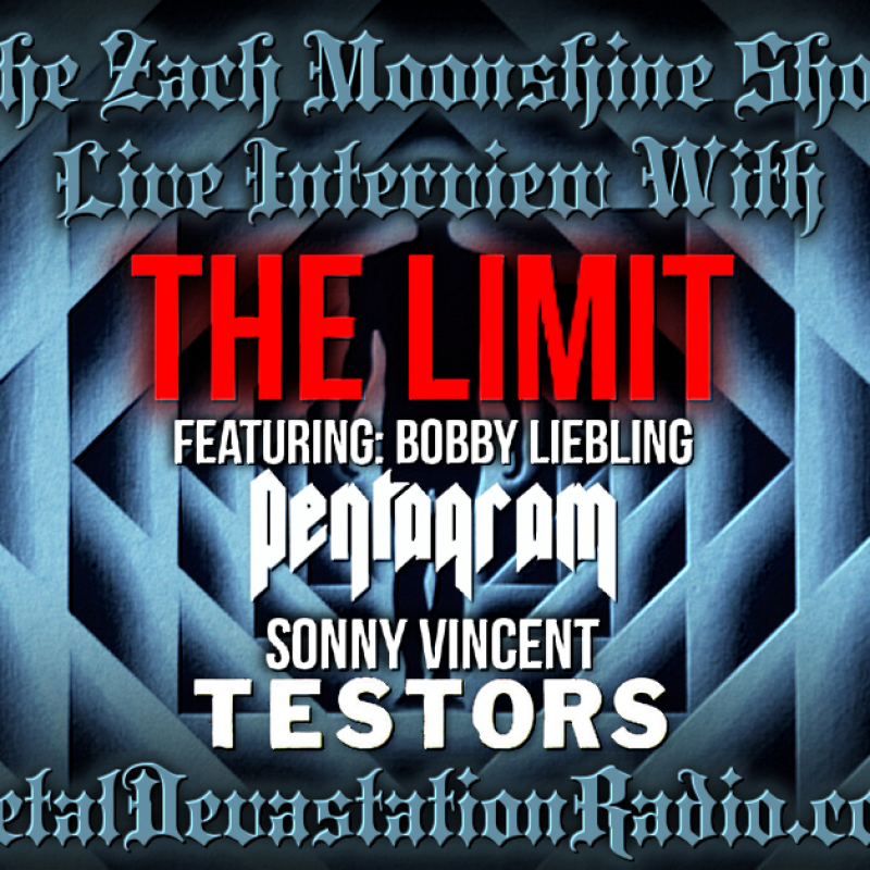 The Limit (Bobby Liebling & Sonny Vincent)  - Interview 2021 - The Zach Moonshine Show