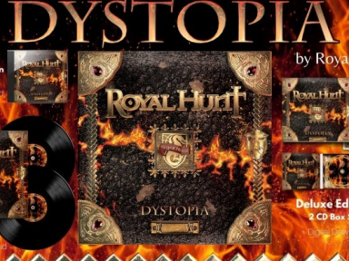 """ROYAL HUNT - """"DYSTOPIA"""" - Reviewed By Necromance Magazine!"""