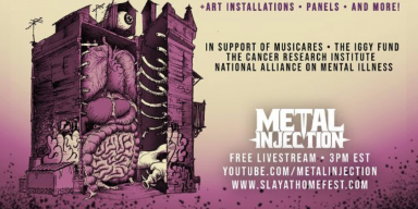 ROTTING CHRIST, SOLSTAFIR, CANNABIS CORPSE + More Added to Metal Injection's Slay at Home Fest Finale