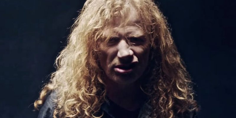 DAVE MUSTAINE Says METALLICA's Co-Manager Called Him 'A Pussy'