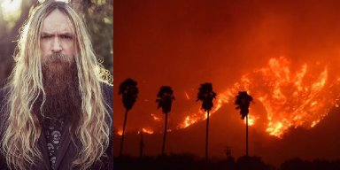 California Wildfires a Threat to Zakk Wylde's Home