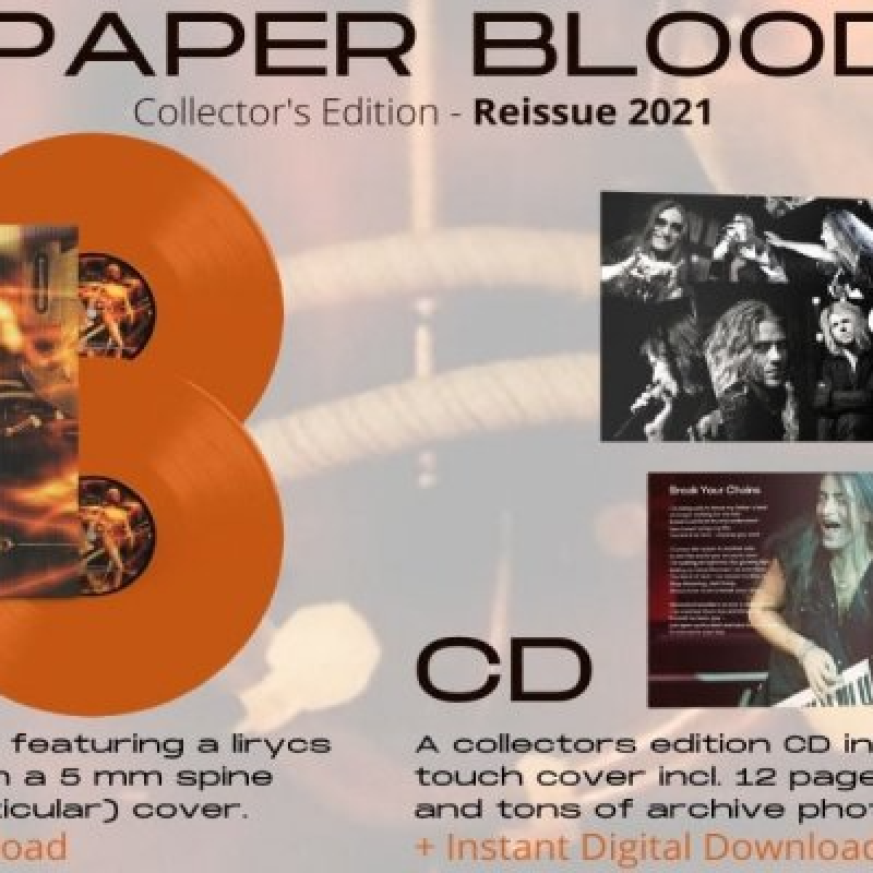 ROYAL HUNT: Paper Blood (reissue) - Reviewed By Hard Rock Info!