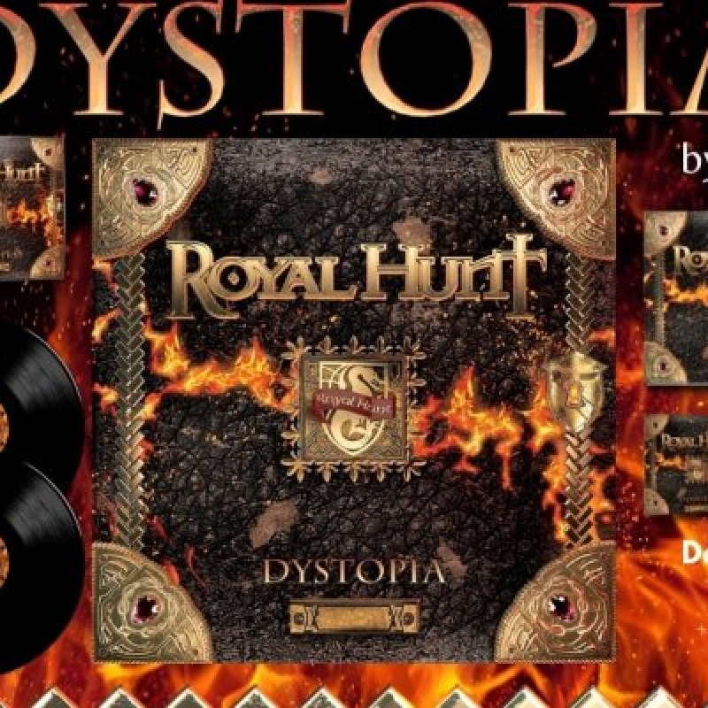 """ROYAL HUNT: BRAND NEW CONCEPT STUDIO ALBUM """"DYSTOPIA"""" - Reviewed At Street Clip!"""