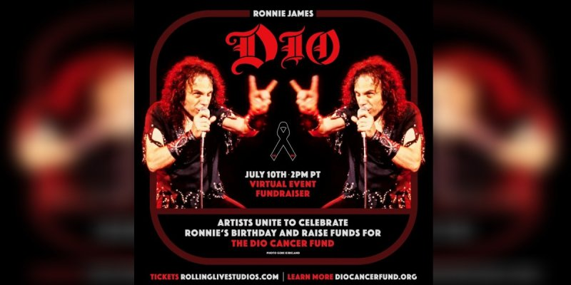 Geezer Butler and Alice Cooper Join Star-Studded Lineup for July 10 'Stand Up and Shout for Ronnie James Dio's Birthday' Global Virtual Concert/Fundraiser