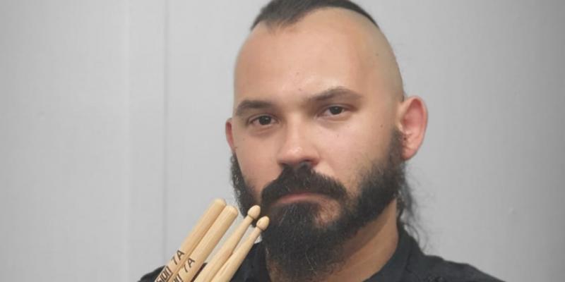 Consecration drummer, Jorge 'Chaos' Figueiredo signs to the Collision Drumsticks roster!