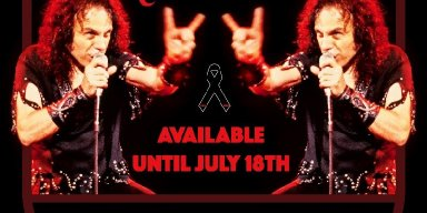 Encore Broadcast for Star-Studded 'Stand Up and Shout for Ronnie James Dio's Birthday' Global Virtual Concert/Fundraiser