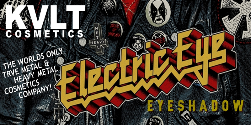 Heavy Metal Cosmetic Company KVLT Cosmetics Introduces ELECTRIC EYE!