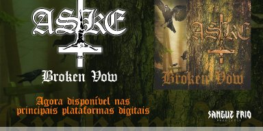 """ASKE: Listen now to the new EP """"Broken Vow"""""""