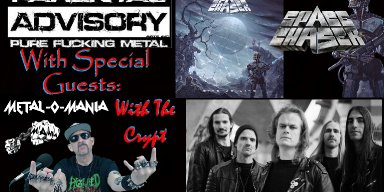 METAL-O-MANIA with Special Guest...SPACE CHASER!
